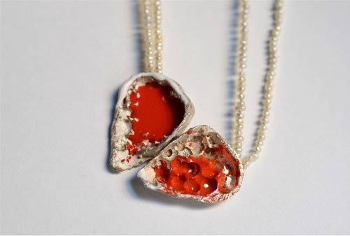 Luz ARIAS - Necklace Open Heart Collection 2011